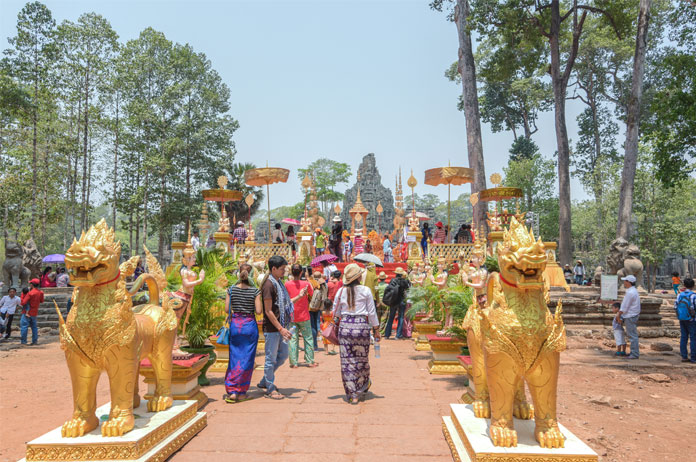 The Khmer New Year 2020 was cancelled due to COVID-19