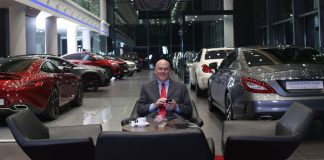 mercedes benz showroom james zemke