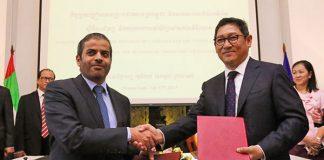 cambodia UAE trade pact
