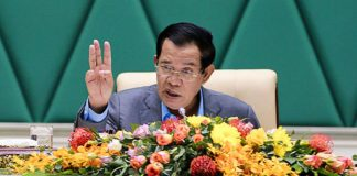 Hun Sen Cambodia seaweed plantation projects rejected