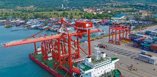 sihanoukville new container port