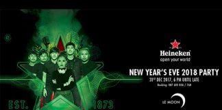 Heineken NYE 2017