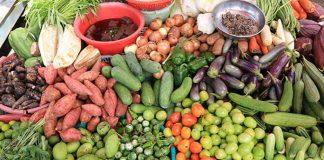 Organic food Cambodia