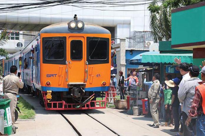 Cambodia Thailand trains