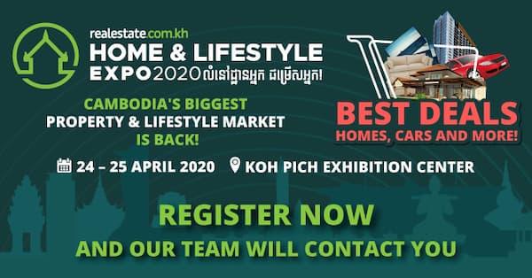 Cambodia's biggest Home & Lifestyle Expo 2020