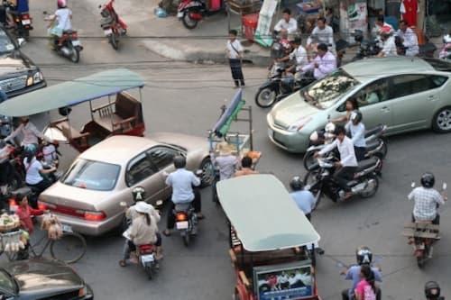 Cambodia traffic Laws fines 2020