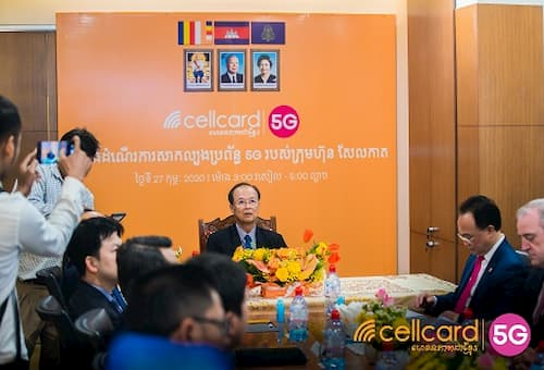Cellcard will roll out 5G in Cambodia in 2020