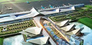 New Phnom Penh Internatiomal airport