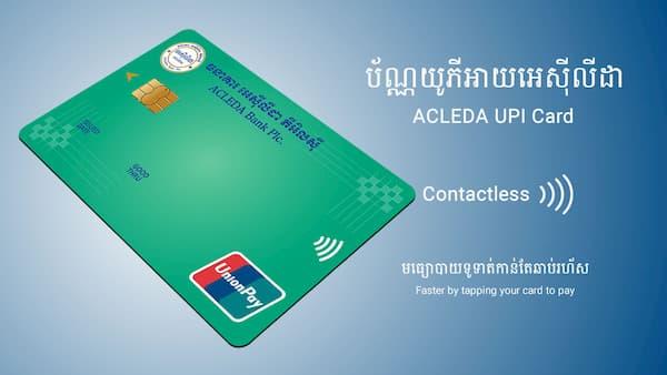 ACLEDA UPI Card in 2020