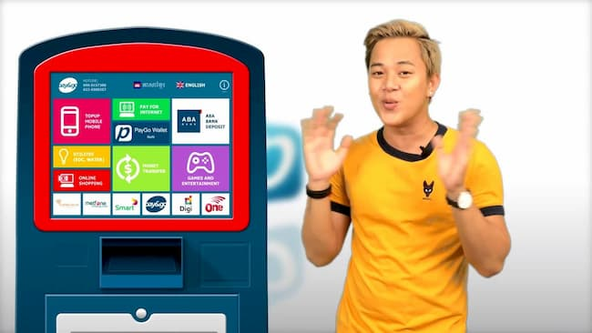 PayGo Kiosks in Cambodia