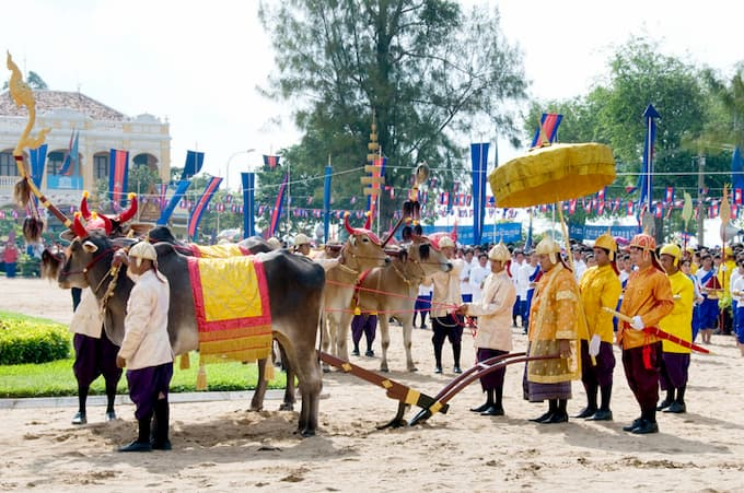 Cambodian Royal Ploughing Ceremony 2020 cancelled