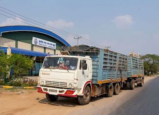 Heavy vehicle facility Phnom Penh