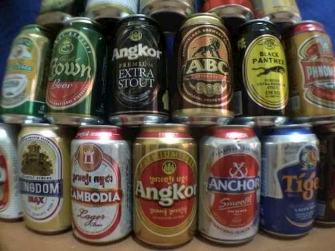 Beers in Cambodia