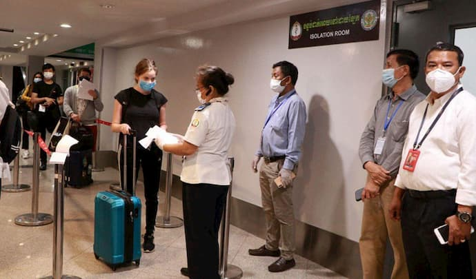 Business traveller to Cambodia COVID-19 guidelines