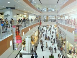 Shopping malls in Phnom Penh
