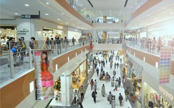 Shopping malls in Phnom Penh