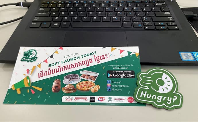 HungryApp Food delivery Cambodia
