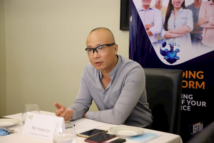 Victor La, Country Director of QHR Solutions