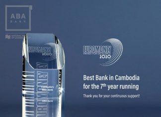 ABA Bank wins Euromoney's 'Best Bank in Cambodia 2020' award