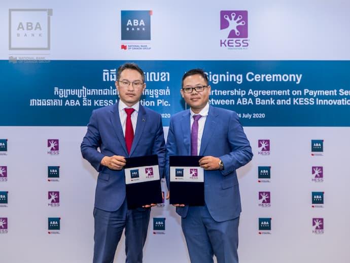 ABA Bank and KESS sign partnership