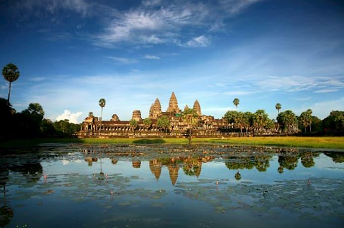 NagaCorp is building the Angkor Lake of Wonder integrated resort near Angkor Wat