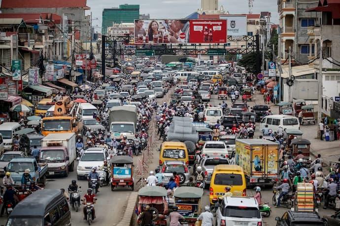 Cambodian car imports 2020