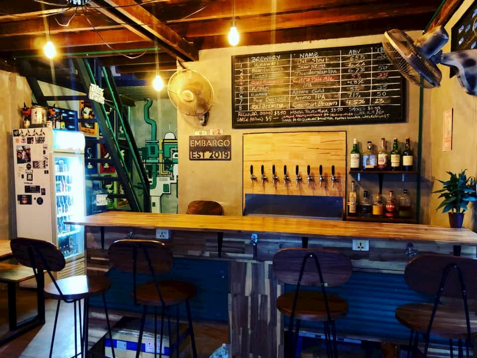Embargo Craft Beer Bar Phnom Penh