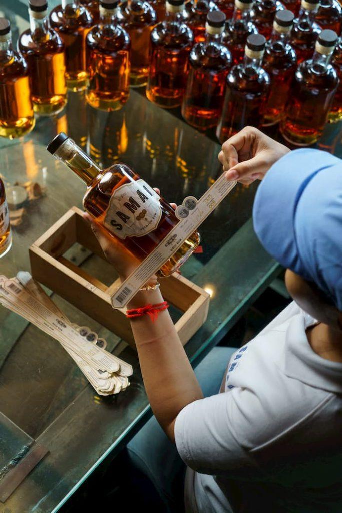 SAMAI Gold Rum Cambodia