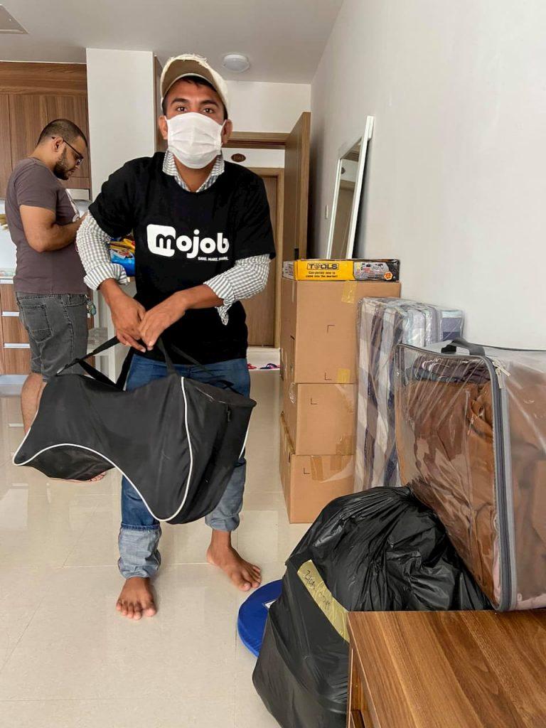Mojob removals app Cambodia