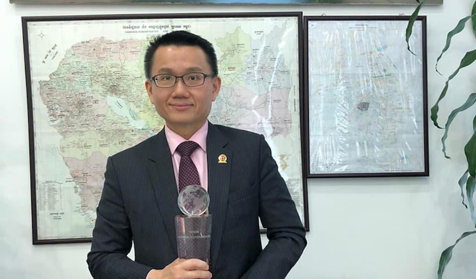 Raymond Sia, CEO of Canadia Bank