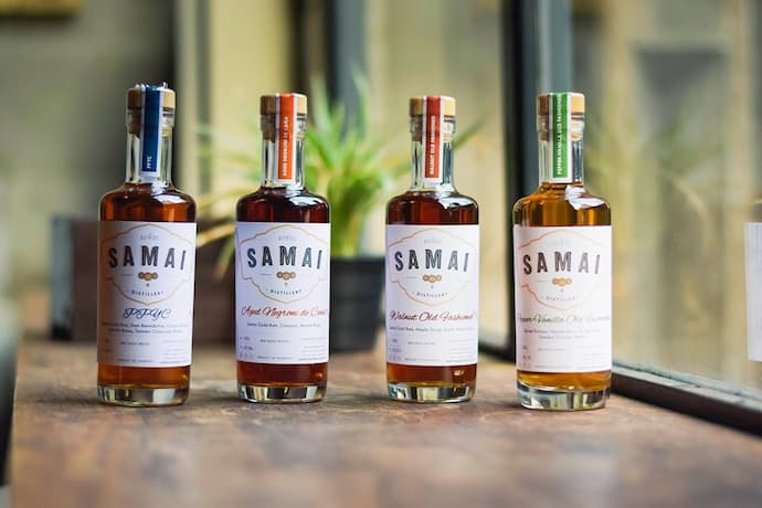 SAMAI Rum products