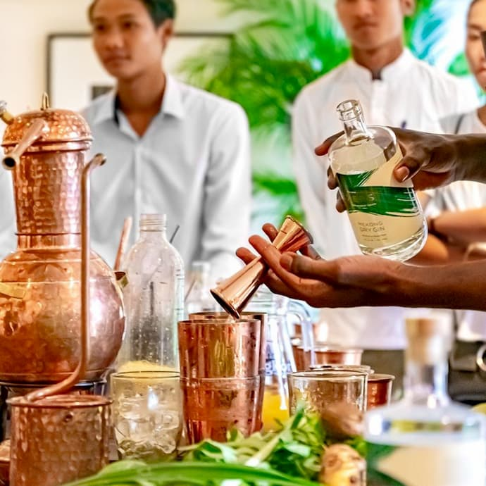 Seekers Independent Spirits - Cambodia training