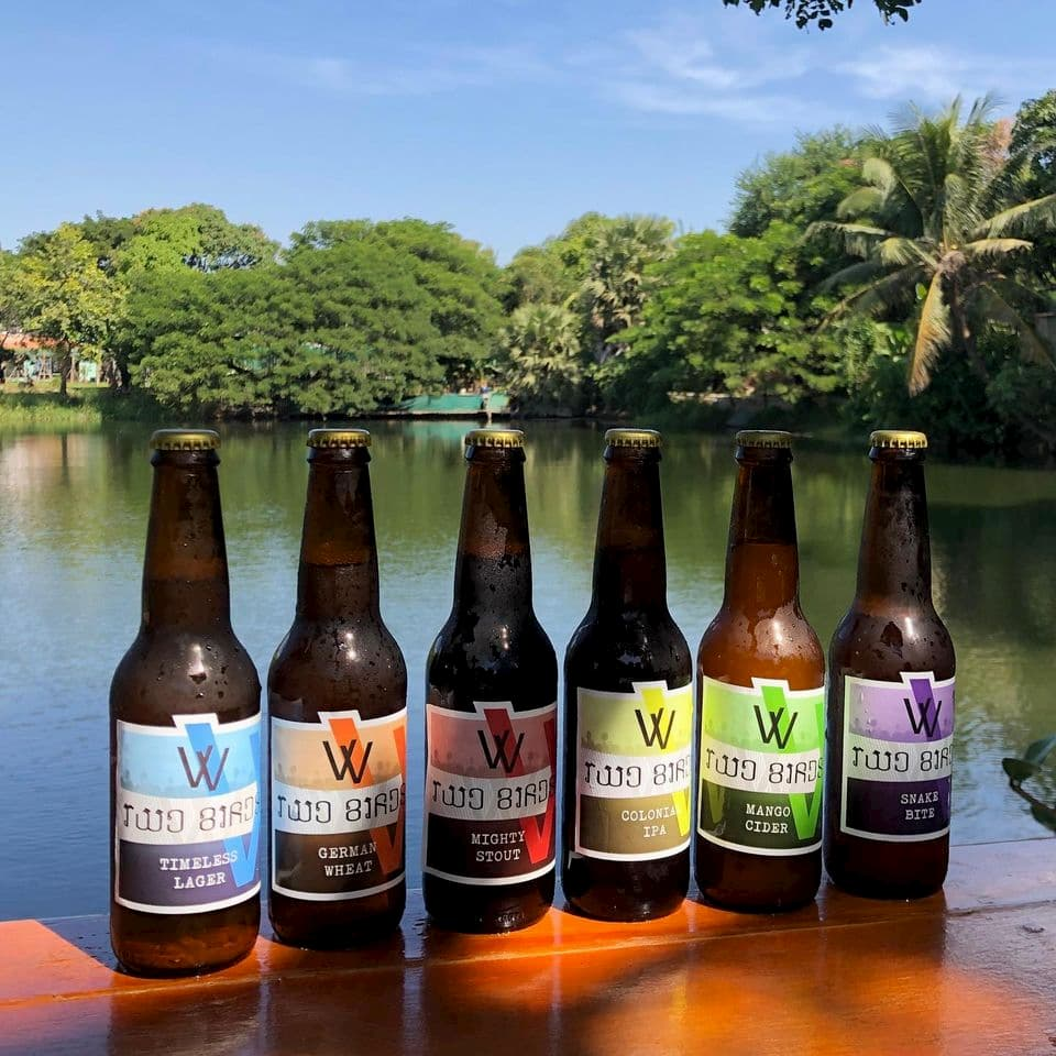 Two Birds Craft Beer (Cambodia)