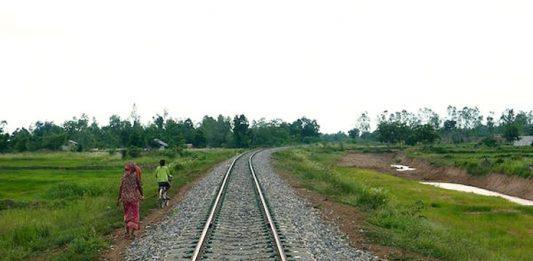Cambodia train network 2020