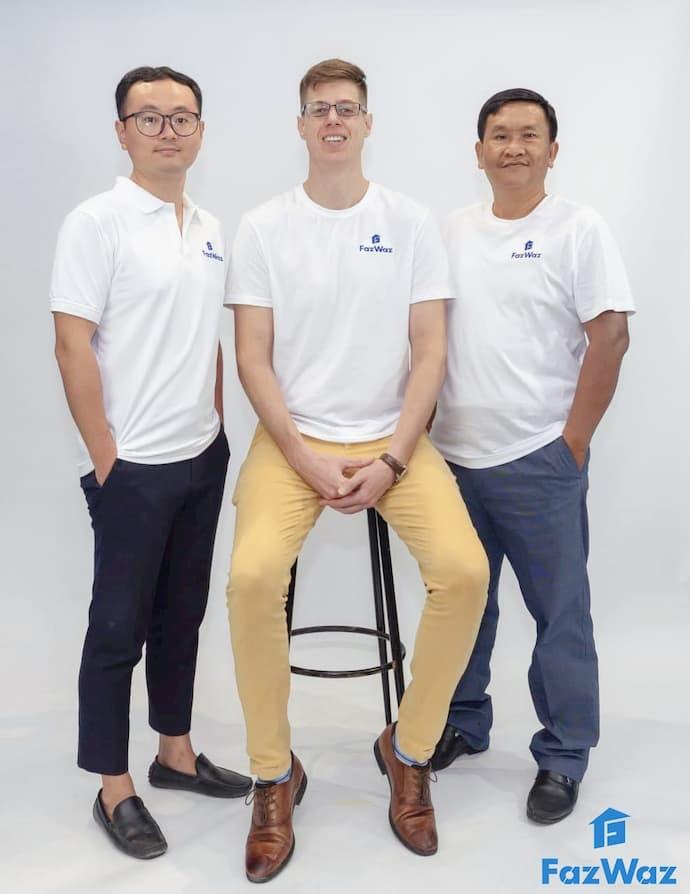 FazWaz Cambodia Management Team