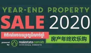 Year-End Property Sale 2020