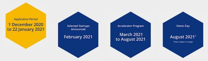 Visa Accelerator Programme Timeline