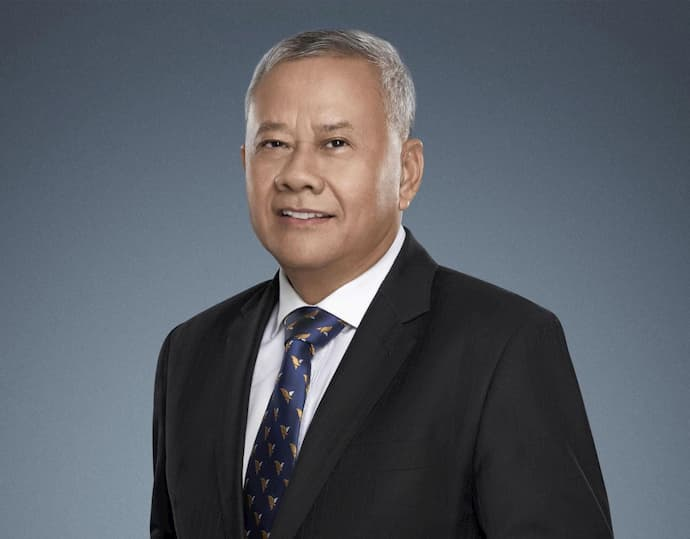 Dr. IN Channy, President & Group Managing Director of ACLEDA Bank Plc.
