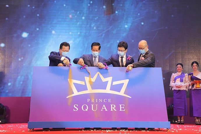 Prince Square ceremony