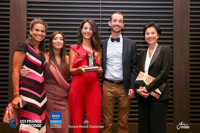 CCI France Cambodge awards 2021 Yekowave