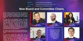 Cambodian Association of Finance and Technology confirms new Board 2021