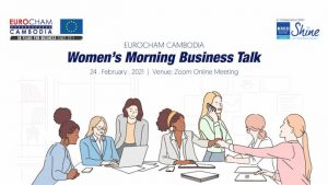 EuroCham Cambodia: Women Morning Business Talk