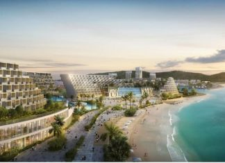Surbana Jurong's masterplan for Ream City
