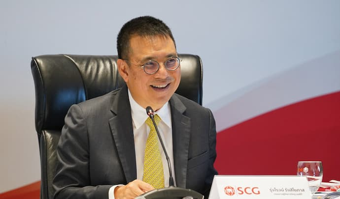 Roongrote Rangsiyopash, president and chief executive officer of SCG