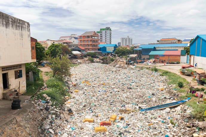 Recycling in Cambodia