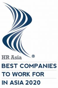 HR Asia Best Companies To Work For In Asia Awards 2020.