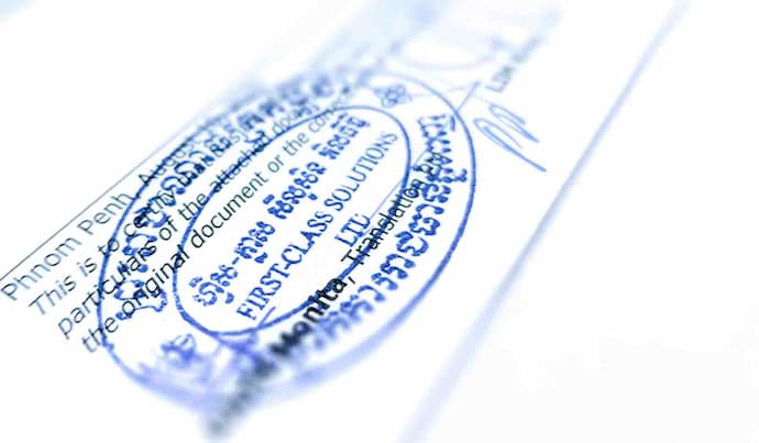 Notary services in Cambodia