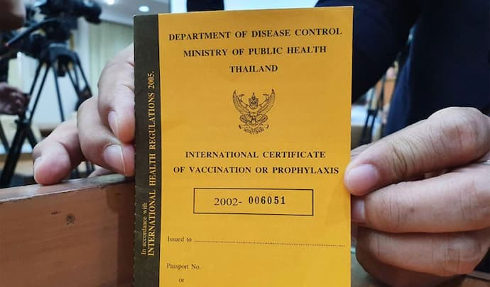 COVID passports Thailand