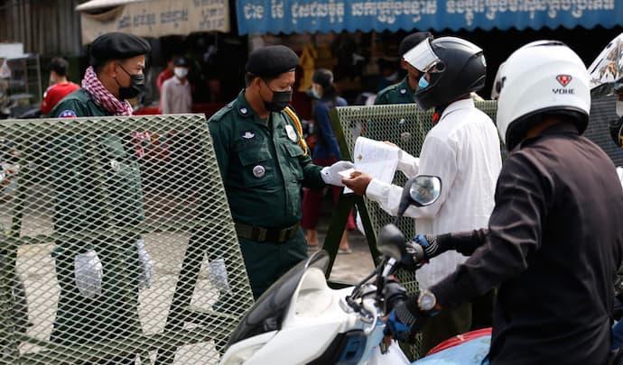 Phnom Penh Lockdowns COVID 19 April 2021