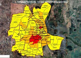 Phnom Penh Colour Zones April 2021